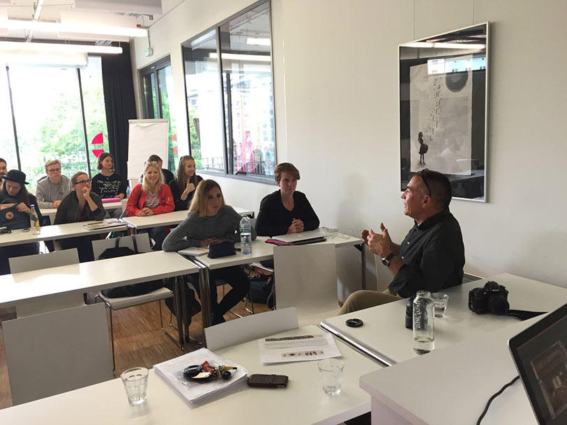 Talk related to Cultural Exchange at Design Akademie Berlin | Ishan ...